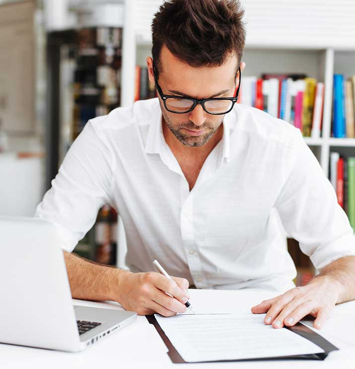 business_writing_page